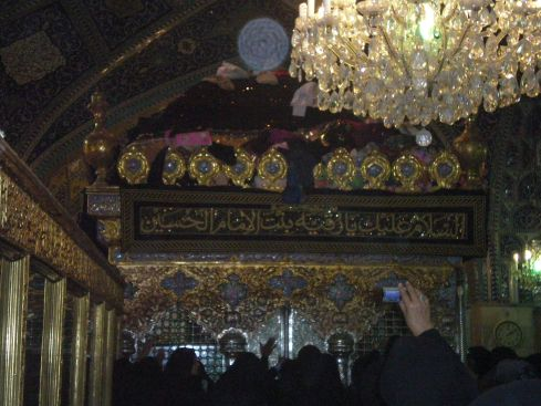 Mausoleum of Lady Saikna a.s